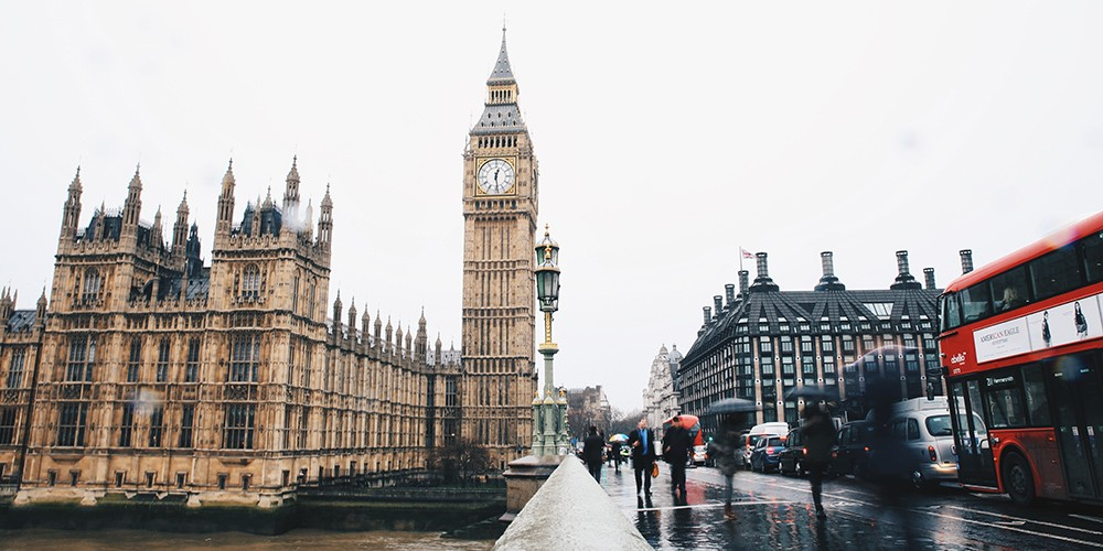 Visite de la ville de Londres