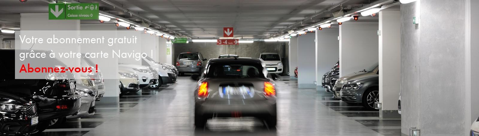 Des abonnements gratuits dans les parkings relais pour les détenteurs d'un abonnement Navigo