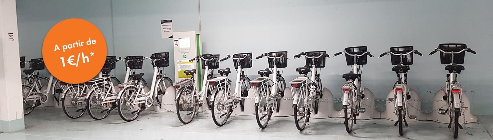 Nouveau : Service de location de vélo à partir de 1 euro