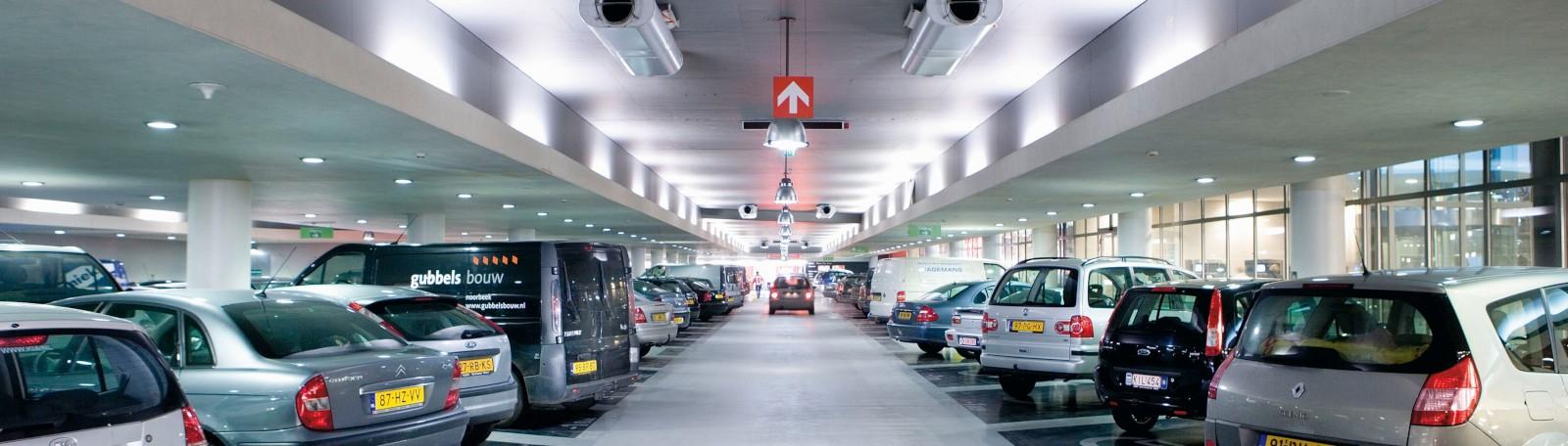 L'éclairage LED : l'audacieux projet de transformation énergétique de Q-Park.
