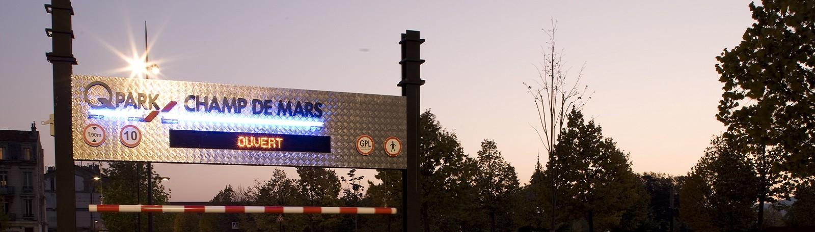 216 parkings à votre disposition pour stationner en France | Q-Park