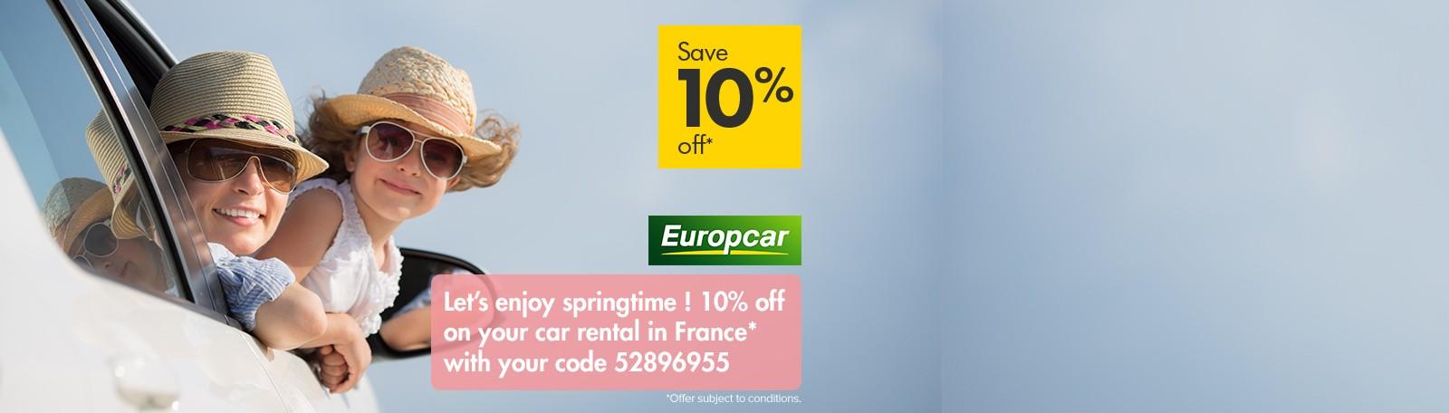 2019 Europcar offer