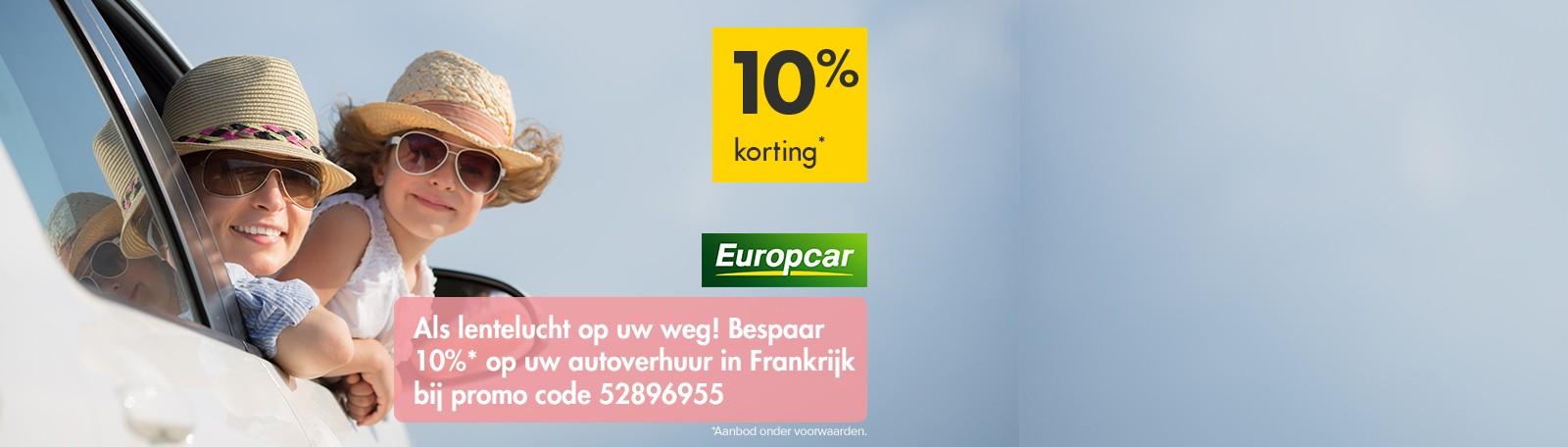 Europcar korting 2019