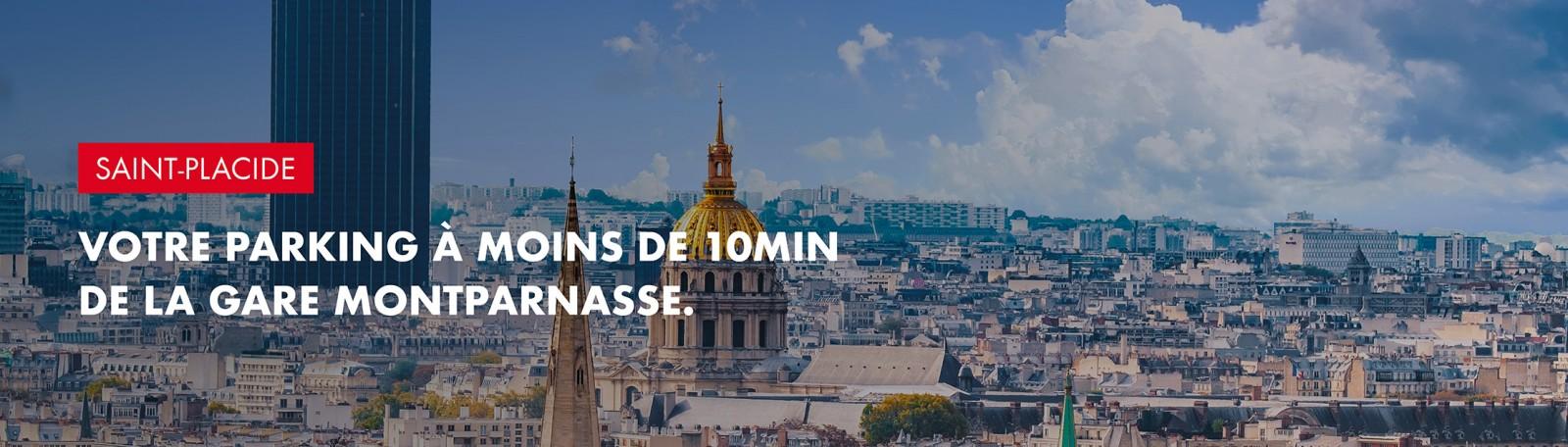 Réservez votre parking à la gare Montparnasse