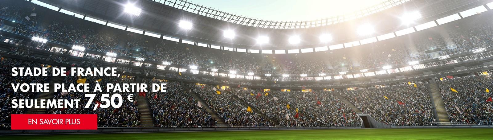 Stationnez au Stade de France