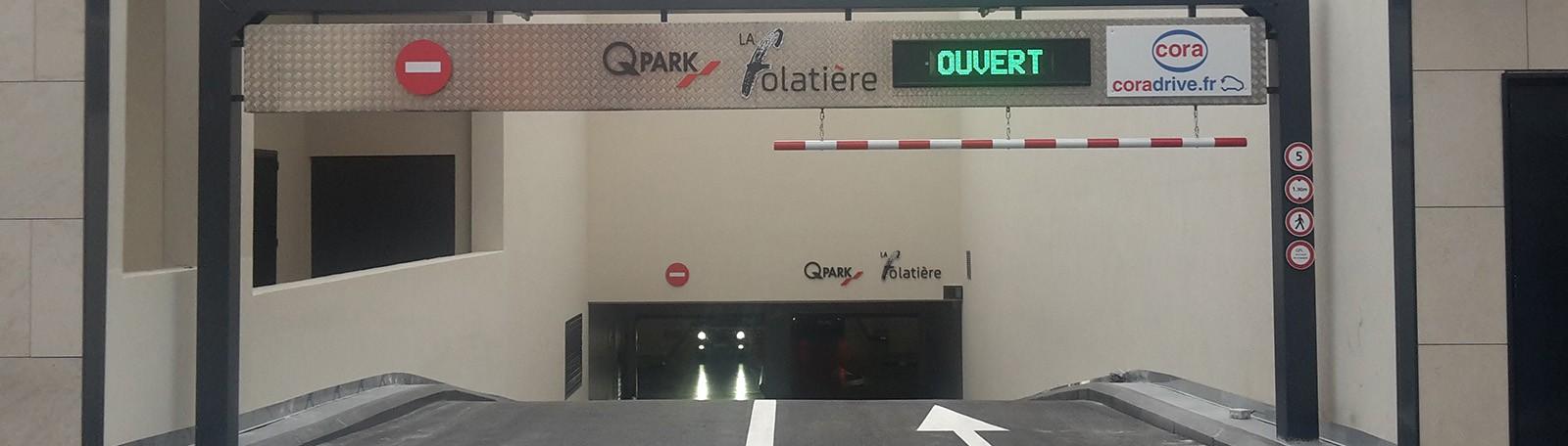 Q-Park La Folatière - 37 avenue Maréchal Leclerc 38300 Bourgoin-Jallieu