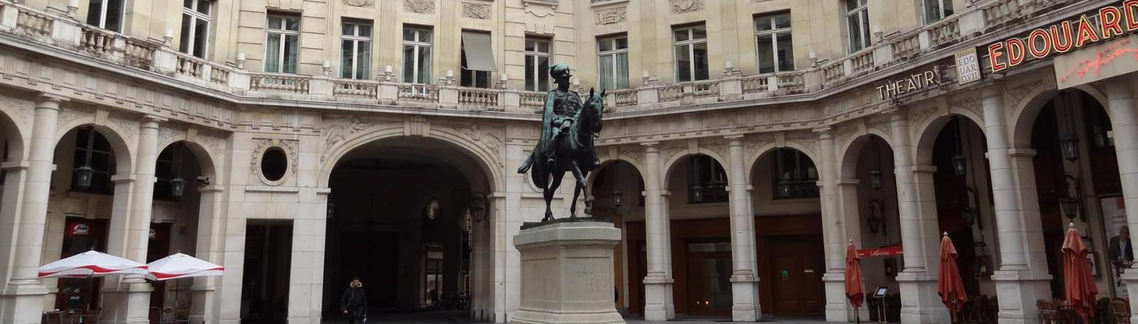 Parking Edouard VII - Olympia - Haussmann - Rue Bruno Coquatrix (face au 23 Rue de Caumartin) 75009 Parijs