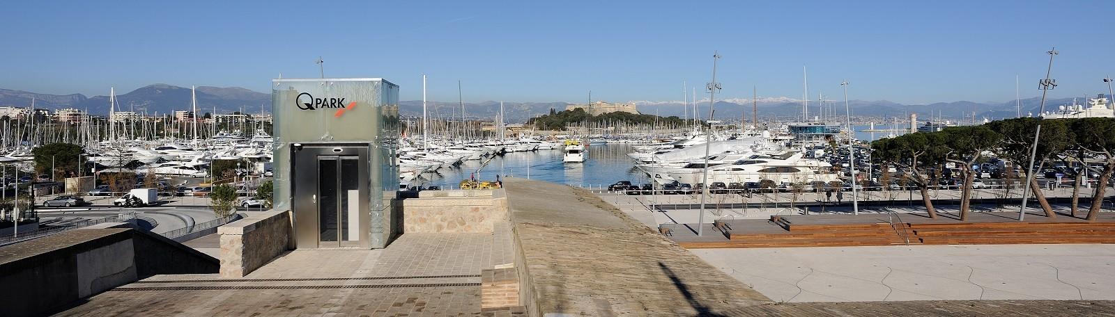 Parking Port d'Antibes - Parkeren in Antibes | Q-Park