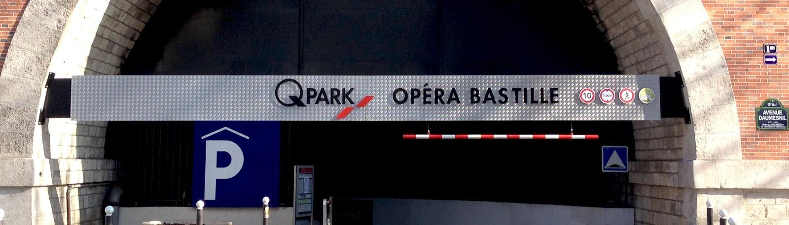 Parking Opéra Bastille - Parkeren in Parijs | Q-Park