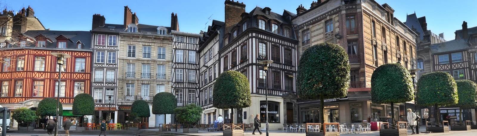 Réservation parking Palais de Justice Musée des Beaux Arts Rouen