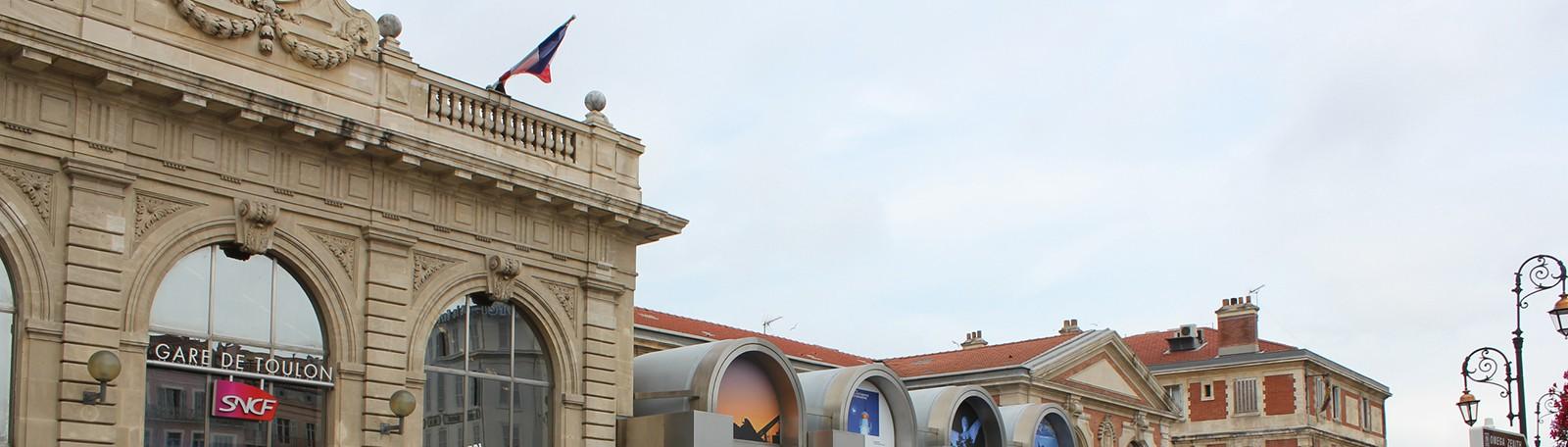 Stationner à Toulon Gare