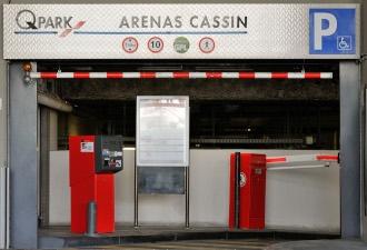 Q-Park augmente la capacité du parking Arénas Cassin
