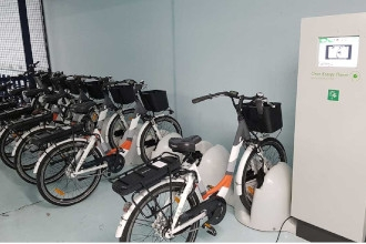 Q-Park s'engage pour la mobilité douce