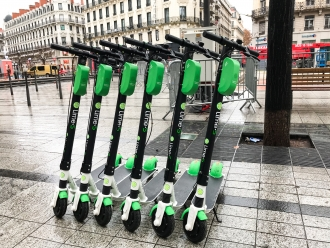 Q-Park and Lime simplify micro-mobility in Paris