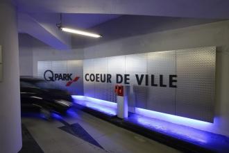De parking Coeur de Ville in Chartres viert zijn tiende verjaardag