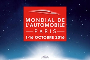 Mondial de l'automobile 2016 à Paris