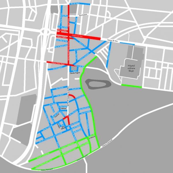T�l�chargez le plan de la ville de Saint Mandé