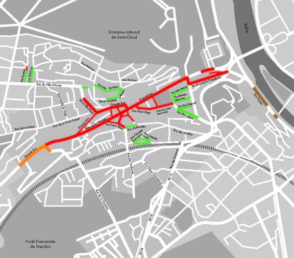 T�l�chargez le plan de la ville de Sèvres