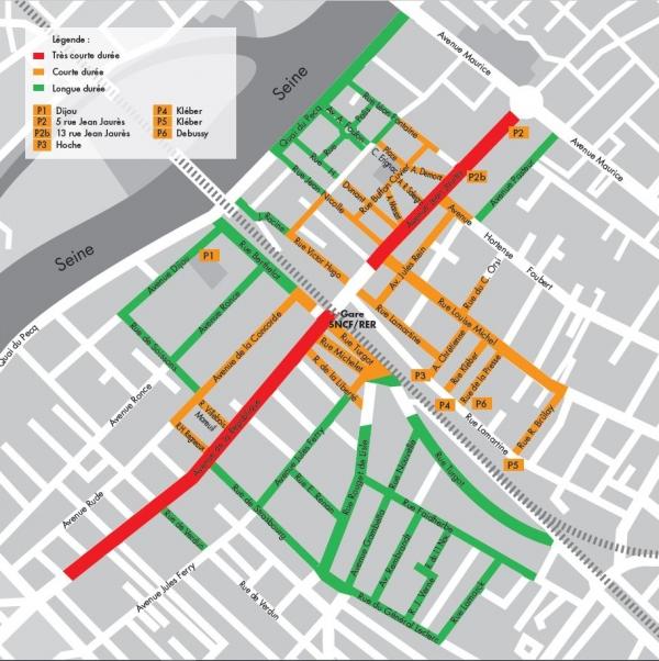T�l�chargez le plan de la ville de Sartrouville