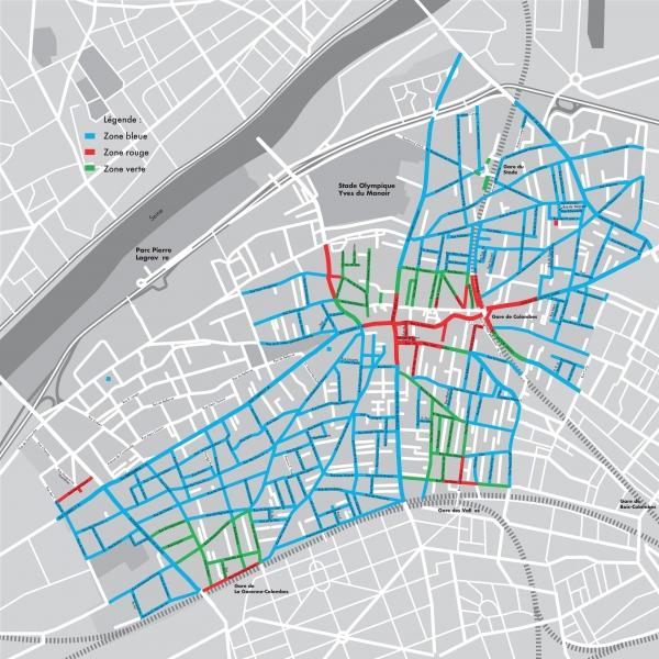 T�l�chargez le plan de la ville de Colombes