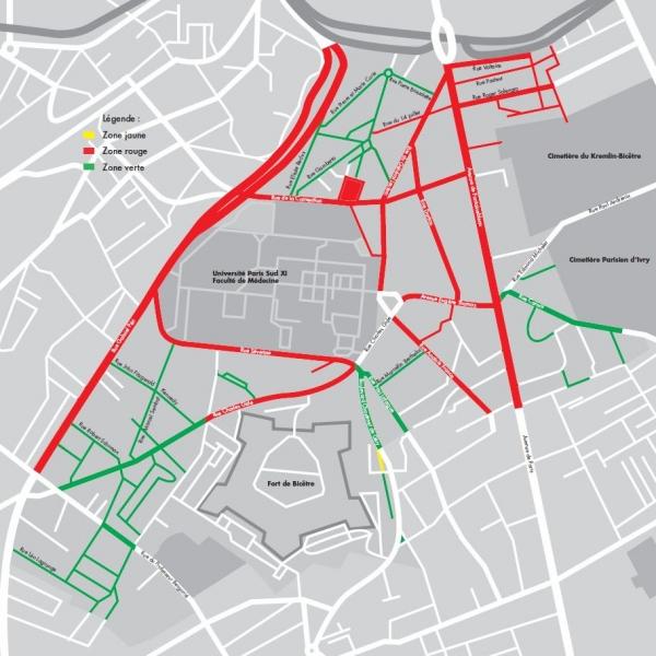 T�l�chargez le plan de la ville de Kremlin-Bicêtre