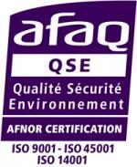 Entreprise certifiée AFNOR